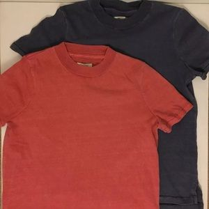Madewell Set of 2 Basic Washed TShirt Size S